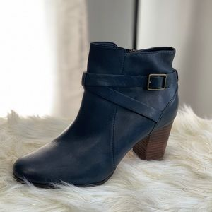Cole Haan blue booties size 10.5B